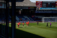 17th April 2021; Kenilworth Road, Luton, Bedfordshire, England; English Football League Championship Football, Luton Town versus Watford; Luton Town score with a penalty for 1-0 in the 77th minute scored by James Collins.