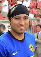Armando Navarrete in the Club America @ Real Salt Lake 0-1 RSL victory at Rio Tinto Stadium in Sandy, Utah on July 11, 2009