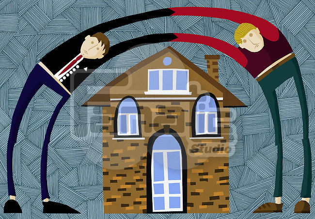 Conceptual image of home ownership