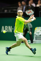 Rotterdam, The Netherlands, Februari 9, 2016,  ABNAMROWTT, Marcos Baghdatis (CYP) <br /> Photo: Tennisimages/Henk Koster