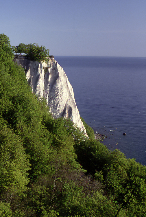 Europe, DEU, Germany, Mecklenburg West Pomerania, Rugen Island, Jasmund, Nationalpark Jasmund, Limestone rocks, Koenigsstuhl....[ For each utilisation of my images my General Terms and Conditions are mandatory. Usage only against use message and proof. Download of my General Terms and Conditions under http://www.image-box.com or ask for sending. A clearance before usage is necessary...Material is subject to royalties. Each utilisation of my images is subject to a fee in accordance to the present valid MFM-List...Contact   archive@image-box.com   www.image-box.com ]