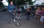Blinky Man Solstice bike ride - 2013