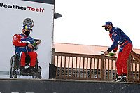 #54 JDC-Miller MotorSports Audi RS3 LMS TCR, TCR: Michael Johnson, Stephen Simpson, podium, champagne