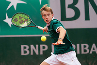 Paris, France, 05 /10/ 2020, Tennis, French Open, Roland Garros, Juniors: Guy de Ouden (NED<br /> Photo: Susan Mullane/tennisimages.com