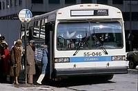 La STCUM dans les annees 80<br /> <br /> autobus GM Classic, vers 1985