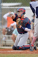 Rene Lastres (23) during the WWBA World Championship at the Roger Dean Complex on October 11, 2019 in Jupiter, Florida.  Rene Lastres attends Miami Christian High School in Hialeah Gardens, FL and is committed to Florida.  (Mike Janes/Four Seam Images)
