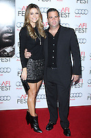 """HOLLYWOOD, CA - NOVEMBER 12: Maria Menounos, Randall Emmett at the AFI FEST 2013 - """"Lone Survivor"""" Premiere held at TCL Chinese Theatre on November 12, 2013 in Hollywood, California. (Photo by David Acosta/Celebrity Monitor)"""