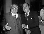 ALBERTO SORDI CON ALDO FABRIZI<br /> GRAND HOTEL ROMA 1979
