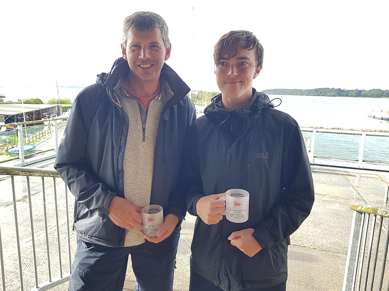 Silver fleet winners -David Tanner and Andrew Mullaly