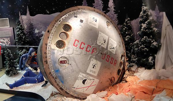 2A25H09 The descent module of the Soyuz TM-7 spacecraft
