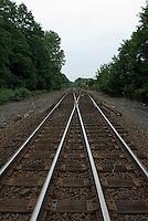 Crossing railroad tracks<br />