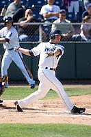 July 18, 2010: Everett AquaSox's Mickey Wiswall (17) during a Northwest League game against the Eugene Emeralds at Everett Memorial Stadium in Everett, Washington.