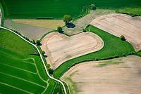 Feld, Acker wie ein Herz in Schleswig-Holstein