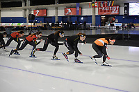 SPEEDSKATING, CALGARY, 02-03-2019, Olympic Oval, ISU World Allround Speed Skating Championships, Training, ©photo Martin de Jong