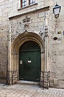 Europe/France/Aquitaine/24/Dordogne/Périgueux: Portail XV ème s de l'ancien Hôtel de Cremoux