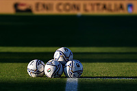 Puma balls are seen prior to the Women s EURO 2022 qualifying football match between Italy and Denmark at stadio Carlo Castellani in Empoli (Italy), October, 27th, 2020. Photo Andrea Staccioli / Insidefoto