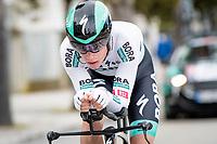 Matteo Fabbro (ITA/BORA - hansgrohe)<br /> <br /> Final stage 7 (ITT) from San Benedetto del Tronto to San Benedetto del Tronto (10.1km)<br /> <br /> 56th Tirreno-Adriatico 2021 (2.UWT) <br /> <br /> ©kramon