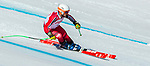 Mac Marcoux, PyeongChang 2018 - Para Alpine Skiing // Ski para-alpin.<br /> Mac Marcoux and guide Jack Leitch ski in the super combined // Mac Marcoux et guide Jack Leitch ski dans le super combiné. 13/03/2018.