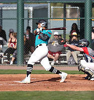 Mykanthony Valdez takes part in the 2018 Under Armour Pre-Season All-America Tournament at the Chicago Cubs training complex on January 13-14, 2018 in Mesa, Arizona (Bill Mitchell)