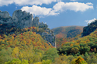 Seneca Rocks,  Spruce Knob-Seneca<br />