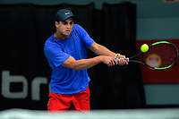 Kiranpal Pannu. 2019 Wellington Tennis Open at Renouf Centre in Wellington, New Zealand on Saturday, 21 December 2019. Photo: Dave Lintott / lintottphoto.co.nz
