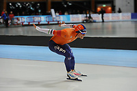 SPEEDSKATING: ERFURT: 19-01-2018, ISU World Cup, 1500m Men A Division, Koen Verweij (NED), photo: Martin de Jong