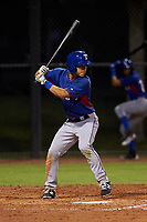 AZL Rangers Cody Freeman (33) at bat during an Arizona League game against the AZL Dodgers Mota at Camelback Ranch on June 18, 2019 in Glendale, Arizona. AZL Dodgers Mota defeated AZL Rangers 13-4. (Zachary Lucy/Four Seam Images)