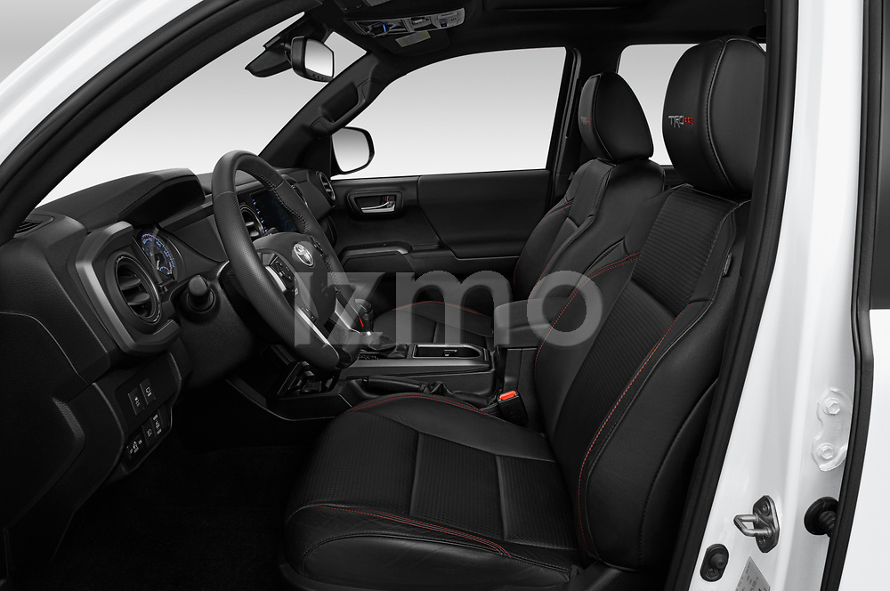 Front seat view of 2020 Toyota Tacoma TRD-Pro 4 Door Pick-up Front Seat  car photos