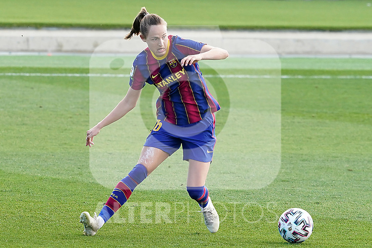 First official match and first classic in the history of women's Real Madrid.<br /> FC Barcelona's Caroline Hansen during Spanish Female League match. October 4,2020. (ALTERPHOTOS/Acero)