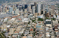 Downtown Denver aerial.  Aug 2013. 81446