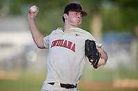 Andrew Dutkanych IV (84) during the WWBA World Championship at Terry Park on October 10, 2020 in Fort Myers, Florida.  Andrew Dutkanych IV, a resident of Indianapolis, Indiana who attends Brebeuf Jesuit Preparatory School, is committed to Vanderbilt.  (Mike Janes/Four Seam Images)