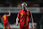 FIFA 2014 World Cup Qualifier - Wales v Croatia - Swansea - 26th March 2013 :  Jonathan Williams of Wales.