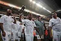 Sao Paulo (SP), 23/01/2020 - Corinthians-Botafogo - Amistoso comemorativo aos 20 anos da conquista do mundial de 2000, antes da partida entre Corinthians e Botafogo, valida pela primeira rodada do campeonato paulista 2020, na Arena Corinthians, zona leste da capital, na noite desta quinta-feira (23). (Foto: Ale Frata/Codigo 19/Codigo 19)