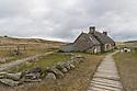 Iles de Glenan - Bretagna, 18 agosto 2020.  Casa rurale.