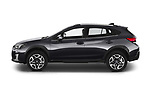 Car Driver side profile view of a 2020 Subaru XV-boxer Premium 5 Door SUV Side View