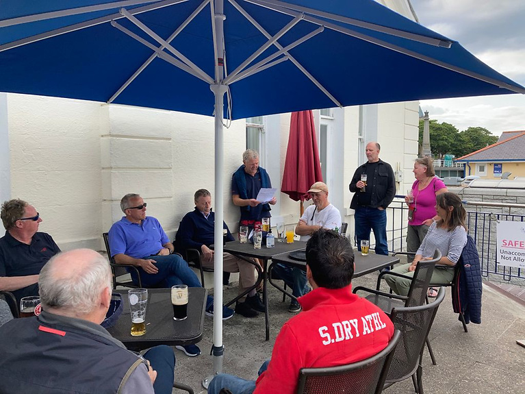 Dun Laoghaire Flying fifteens gather for the annual Captain's Prize prizegiving