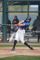 Jacob Allred (4) of Cathedral Catholic High School in San Diego, California during the Under Armour All-American Pre-Season Tournament presented by Baseball Factory on January 14, 2017 at Sloan Park in Mesa, Arizona.  (Kevin C. Cox/MJP/Four Seam Images)