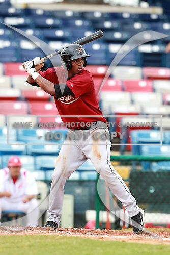 Houston Astros minor league shorstop Jimmy Paredes (52) during a game vs. the Chinese National Team in an Instructional League game at Holman Stadium in Vero Beach, Florida September 28, 2010.   Photo By Mike Janes/Four Seam Images