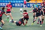 Lee Tsz Ting of Lions (C) in action during the Women's National Super Series 2017 on 13 May 2017, in Hong Kong Football Club, Hong Kong, China. Photo by Marcio Rodrigo Machado / Power Sport Images