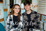 Enjoying the evening in Molly J's on Friday, l to r: Molly Walsh (Ardfert) and Adam Kavanagh (Blennerville)