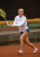 07-08-13, Netherlands, Rotterdam,  TV Victoria, Tennis, NJK 2013, National Junior Tennis Championships 2013, Britt Schreuder<br /> <br /> <br /> Photo: Henk Koster
