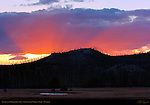 Sunset over Madison Junction, Yellowstone National Park, Wyoming