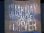 Sneak Peak of the Irish Repertory Theatre Production of  'On A Clear Day You Can See Forever'  at the Irish Repertory Theatre on June 14, 2018 in New York City.