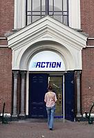 Nederland  Hoorn- September 2020 .  Action winkel. Action Hoorn aan het Ramen 31, gevestigd in een voormalige Doopsgezinde kerk. Foto : ANP/ Hollandse Hoogte / Berlinda van Dam