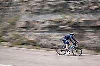 Albert Torres (ESP/Movistar)<br /> <br /> 104th Giro d'Italia 2021 (2.UWT)<br /> Stage 12 from Siena to Bagno di Romagna (212km)<br /> <br /> ©kramon