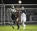 26/01/2010  Copyright  Pic : James Stewart.sct_jspa05_stenhousemuir_v_dunfermline  .:: STENNY'S CHRIS MCCLUSKEY AND GARY THOM STOP PARS' ANDY KIRK :: .James Stewart Photography 19 Carronlea Drive, Falkirk. FK2 8DN      Vat Reg No. 607 6932 25.Telephone      : +44 (0)1324 570291 .Mobile              : +44 (0)7721 416997.E-mail  :  jim@jspa.co.uk.If you require further information then contact Jim Stewart on any of the numbers above.........