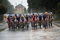 rain makes the race even harder