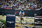 18 April 2015: Katie Laurie on Kiwi Iron Mark winning the Jump-Off
