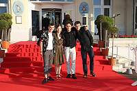 ZACHARIE CHASSERIAUD, MARION DEFER ET THEO CHOLBI - 31EME FESTIVAL DE CABOURG 2017 . CABOURG, FRANCE, 18/06/2017. # 31EME FESTIVAL DE CABOURG 2017 - PHOTOCALL ET CLOTURE DU FESTIVAL
