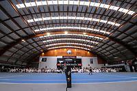 Men's Singles final - Ajeet Rai v Isaac Becroft. 2020 New Zealand Championships Wellington Tennis Open finals at Renouf Centre in Wellington, New Zealand on Sunday, 20 December 2020. Photo: Dave Lintott / lintottphoto.co.nz